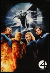 8s010 4: RISE OF THE SILVER SURFER teaser 1sh '07 Jessica Alba, Michael Chiklis, Chris Evans!