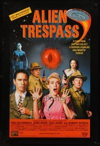 8s024 ALIEN TRESPASS DS 1sh '09 creepying, crawling nightmare of terror, can mankind be saved!
