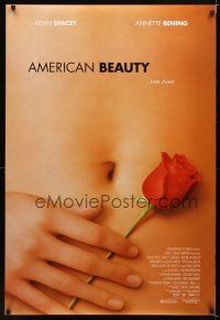 8s027 AMERICAN BEAUTY DS 1sh '99 Sam Mendes Academy Award winner, sexy close up image!