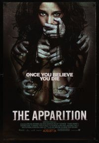 8s038 APPARITION advance DS 1sh '12 Ashley Greene, once you believe you die!