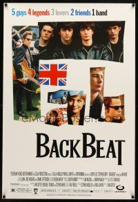 8s058 BACKBEAT 1sh '94 Iain Softley directed, Stephen Dorff, The Beatles before they were famous!
