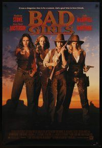 8s059 BAD GIRLS 1sh '94 cowgirls Drew Barrymore, Madeleine Stowe, Masterson & MacDowell!