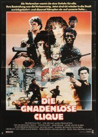 8t224 BAND OF THE HAND German '86 Paul Michael Glaser, Stephen Lang, Lauren Holly!