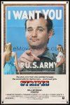 9b852 STRIPES style B 1sh '81 Ivan Reitman classic military comedy, Bill Murray wants YOU!