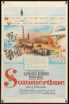 9b858 SUMMERTIME 1sh '55 Katharine Hepburn went to Venice a tourist & came home a woman!