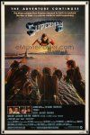 9b861 SUPERMAN II 1sh '81 Christopher Reeve, Terence Stamp, battle over New York City!