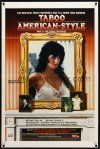 9b873 TABOO AMERICAN STYLE 2 THE STORY CONTINUES 1sh '85 incredible rise to a movie star goddess!