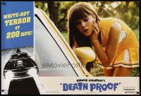 9e018 DEATH PROOF 3 special 27x40s '07 Tarantino's Grindhouse, great images of sexy girls & car!