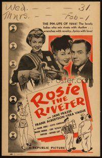 Rosie the Riveter (Rhetorical Analysis)