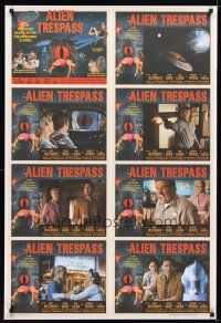 9w020 ALIEN TRESPASS 1sh '09 creepying, crawling nightmare of terror, cool lobby card style!