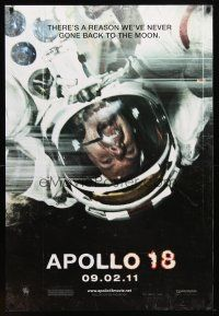 9w028 APOLLO 18 teaser DS 1sh '11 Gonzalo Lopen-Gallego, there's a reason we never went back!