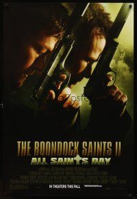9w074 BOONDOCK SAINTS II: ALL SAINTS DAY advance DS 1sh '09 Sean Patrick Flanery, Norman Reedus!