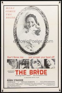 9w080 BRIDE 1sh '74 Robin Strasser & John Beal in The House That Cried Murder!