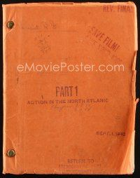 1a007 ACTION IN THE NORTH ATLANTIC revised final draft script Sep 1, 1942, by Lawson & Burnett!