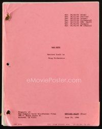 1a017 BAD BOYS revised draft script June 10, 1994, screenplay by Doug Richardson!