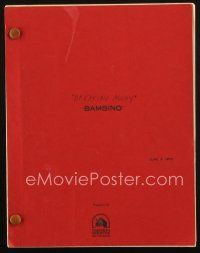 1a027 BREAKING AWAY script June 9, 1978, screenplay by Steve Tesich, working title Bambino!
