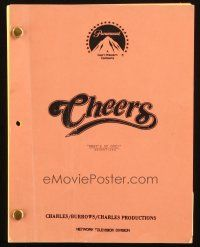 1a036 CHEERS final draft TV script February 23, 1989, from the episode What's Up Doc!
