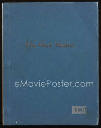 1a054 DEER HUNTER final draft script June 7, 1977, screenplay by Michael Cimino!