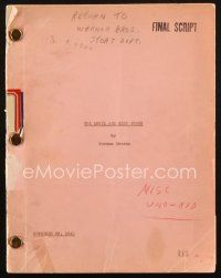 1a055 DEVIL & MISS JONES revised final draft script November 26, 1940, screenplay by Norman Krasna!