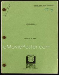 1a068 FATHER GOOSE revised first draft script February 11, 1964, screenplay by Peter Stone!