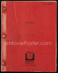 1a067 FATHER GOOSE revised final draft script March 17, 1964, screenplay by Peter Stone!