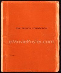 1a075 FRENCH CONNECTION revised script October 6, 1970, screenplay by Ernest Tidyman!