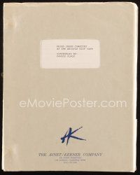 1a076 FRIED GREEN TOMATOES script April 20, 1990, screenplay by Fannie Flagg, working title!