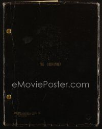 1a080 GODFATHER second draft script March 1, 1971, screenplay by Mario Puzo & Francis Ford Coppola!