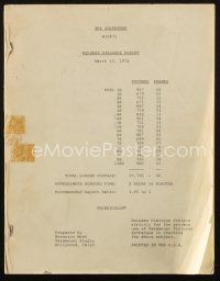 1a079 GODFATHER release dialogue script March 15, 1972, screenplay by Mario Puzo & Coppola!