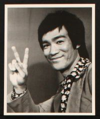 1x033 BRUCE LEE: IN HIS OWN WORDS video presskit w/ 16 stills '98 wonderful kung fu images!