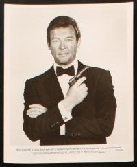 1x005 FOR YOUR EYES ONLY presskit w/ 25 stills'81 Bysouth art of Roger Moore as Bond 007 & sexy legs
