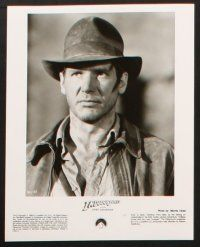 1x013 INDIANA JONES & THE LAST CRUSADE presskit w/ 18 stills '89 Ford, Connery, Spielberg & Lucas!