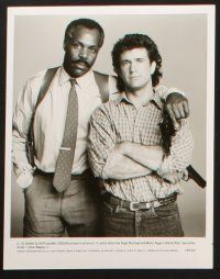 1x066 LETHAL WEAPON 2 presskit w/ 14 stills '89 great images of cops Mel Gibson & Danny Glover!