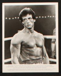 1x011 ROCKY III presskit w/ 20 stills '82 great images of boxer Sylvester Stallone & Mr. T!