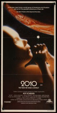 2d320 2010 Aust daybill '84 the year we make contact, sci-fi sequel to 2001: A Space Odyssey!
