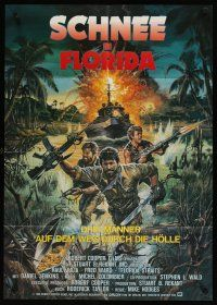 2d078 FLORIDA STRAITS German '86 Raul Julia, Fred Ward, Mike Hodges HBO TV movie!