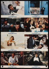 2d060 LICENCE TO KILL German LC poster '89 Timothy Dalton as Bond, great c/u gambling in casino!