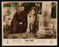 2d054 SALOME German LC '53 close up of Judith Anderson as Queen Herodias!