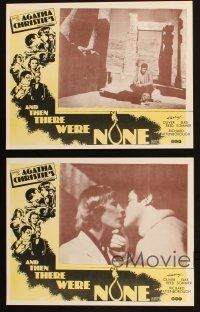 2d129 AND THEN THERE WERE NONE 8 Aust LCs '75 Oliver Reed, Elke Sommer, Ein unbekannter rechnet ab!