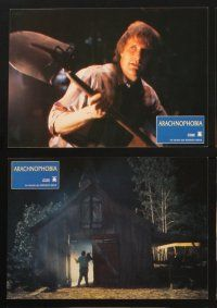 2d028 ARACHNOPHOBIA 12 German LCs '90 Jeff Daniels, creepy spider horror images!
