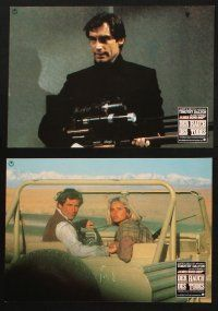 2d042 LIVING DAYLIGHTS 6 German LCs '87 Timothy Dalton as James Bond, sexy Maryam d'Abo!