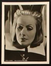 2d016 GRETA GARBO 5 German stills '50s great close up images from her top movies!