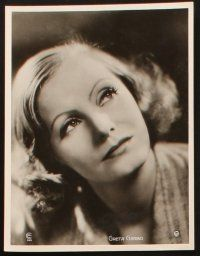 2d015 GRETA GARBO 6 deluxe German stills '50s great close up images from her top movies!