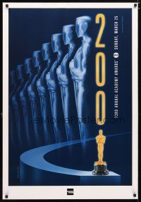 2m017 73RD ACADEMY AWARDS SUNDAY, MARCH 25, 2001 American Express style TV 1sh '01 image of Oscar!