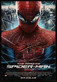 2m040 AMAZING SPIDER-MAN advance DS 1sh '12 Andrew Garfield in title role!