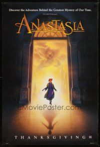 2m044 ANASTASIA style A advance DS 1sh '97 Don Bluth cartoon about the missing Russian princess!