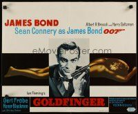 2p017 GOLDFINGER Belgian R70s great close up of Sean Connery as James Bond 007 + gold girl!