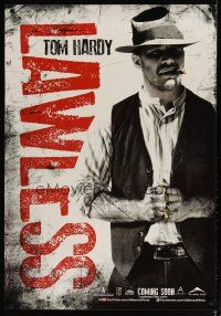 2p045 LAWLESS teaser Canadian 1sh '12 great image of Tom Hardy wearing brass knuckles!
