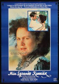 2p061 MY BRILLIANT CAREER Swedish '80 Judy Davis, Sam Neill, directed by Gillian Armstrong!