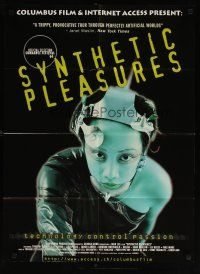 2p031 SYNTHETIC PLEASURES Swiss '96 cool image from technology sci-fi documentary!